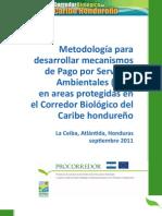 Metodologia para PSA en Areas Protegidas