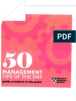 50 Management Tips of the Day-pt1