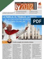 VII Encuentro Mundial de Familias-revista Nº 1