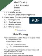 2.2 Metal Forming