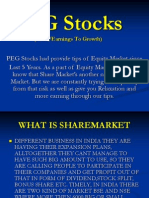 PEG Stocks