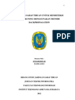 Jaringan Saraf Tiruan Metode Backpropagation