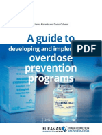 A guide to developing and implementing overdose prevention programs