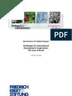Challenges for Int'l Dev. Coop.