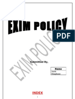 EXIM Policy Hard Copy Ani Sh