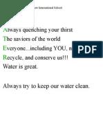 Fis - 4f Water Poems-- Matthew 0809