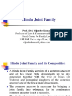 1- Hindu Joint Family