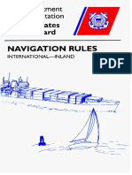 International and Inland (US) Rules of the Road