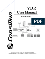 707094E0, VDR Users Manual