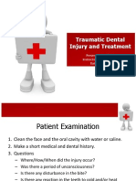 Traumatic Dental Injury and Treatment