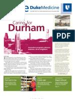 Inside Duke Medicine - December 2008 (Vol. 17 No. 12)