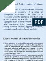 Macro Economics MMS