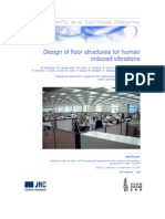 Design of Floor Structures for Human Induced Vibrations