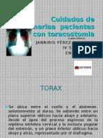 toracostomia caso clinico