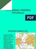 HIDROGENUL ENERGIA VIITORULUI