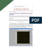 Labview Exercises 2