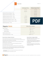 Magento Price List - March 2012