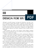 Chp-Design for Six Sigma