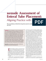 Bedside Assessment of Enteral Tube Placement .23