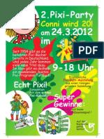 Pixi Party am 24.03.2012