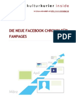 Facebook Chronik für Fanpages