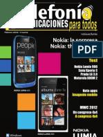 TyC Telefonia y Comunicaciones Febrero 2012