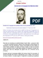 Joseph Callies PortaitdelaCompagniedesmachinesBulletdesonprésidenten 1957