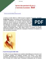 Alain Aussedat Une entreprise liée pendant 45 ans à l'histoire familiale Aussedat / Bull