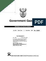 Jurisdiction Act South Africa