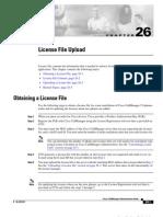 Licence File UpLoad