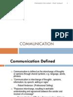 Communication 1 - Intro Culture Non Verbal