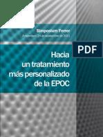 """Symposium organizado por el Grupo Ferrer, """"Hacia un tratamiento más personalizado de la EPOC"""" Celebrado en Amsterdam en septiembre de 2011"""