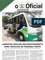 Diário Oficial Jaboatão 25/FEV