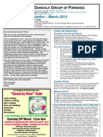 Parish Newsletter - March 2012