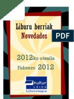 2012ko otsaila -- Febrero 2012
