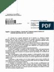 Il documento della Corte dei Conti sull'incontro col presidente del Consiglio Comunale