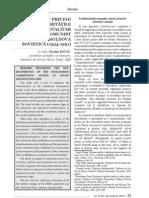 Consideratii Privind Particular It a Tile Regimului Totalitar Comunist Din Moldova Sovietica (1924-1991)