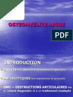 OSTEOMYELITE AIGUE