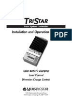 Solar Charge Controller Regulator TriStar Manual