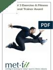 Level 3 Portfolio - Personal Trainer Award - 2012