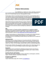 Faktablad SBAB Bank Söktrendindex