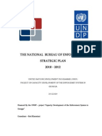 Strategic Plan  of the National Bureau of Enforcement (2010-2012)