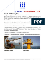 Msf Safety Flash 12.08