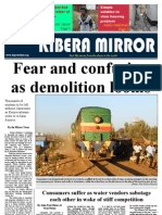 Kibera Mirror February/March edition