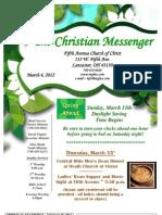 March 4 Newsletter
