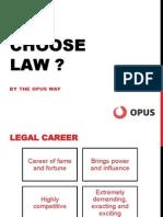 Law as a career option