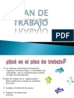 Plan de Trabajo Metodologia