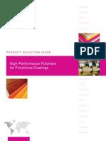 GA-013 Functional Coatings Brochure