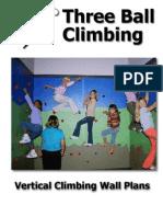 3 Ball Vertical Climbing Wall Plans