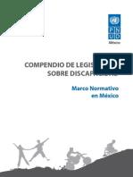 Compendio Leyes discapacidad Mexico